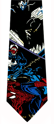 Spiderman Action Necktie