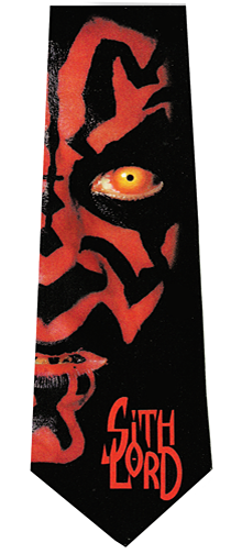 Star Wars Darth Maul Sith Lord Tie
