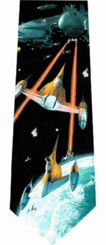 Star Wars Naboo Space Battle Tie