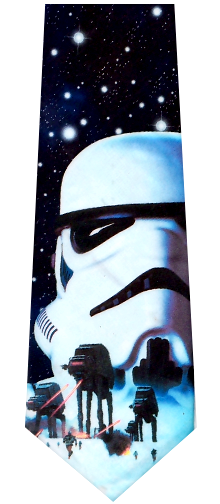Star Wars Storm Trooper Necktie