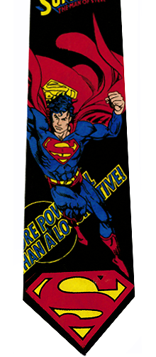Superman Man of Steel Tie