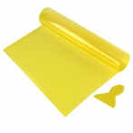 16 x 48 Yellow Tint Vinyl Sheet