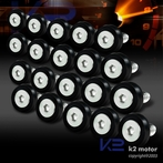 20PC Black Aluminum Washer/Bolt Dress Up Kit