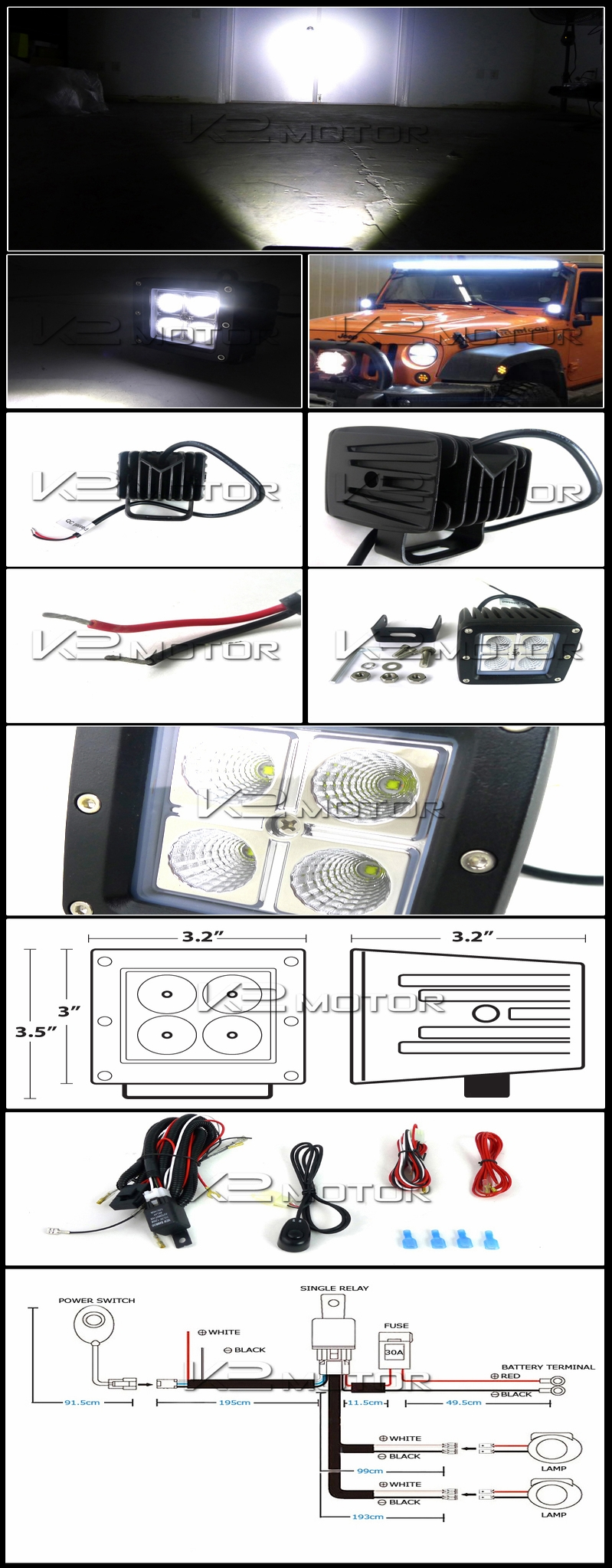 off road light wiring harness solidfonts off road lights wiring diagram schematics and diagrams