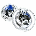 "7"" Round LED Headlights"