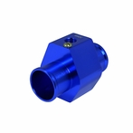 Aluminum Water Temp Gauge Radiator Sensor Adaptor - 30mm (Blue)