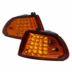 Amber LED Corner Lights