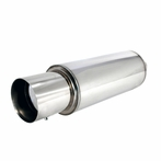 Apexi N1 - Style Exhaust Muffler With Removable Silencer
