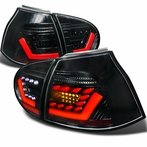 Black 3D LED Tail Lights