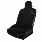 Black Bucket Racing Seat + Sliders