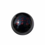 Black Chrome 5-Speed Manual Transmission Shift Knob