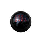 Black Chrome 6-Speed Manual Transmission Shift Knob