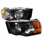 Black Diamond Cut Headlights
