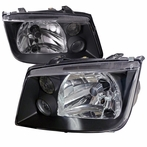 Black Euro Headlights