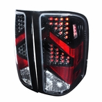 Black Euro LED Altezza Tail Lights