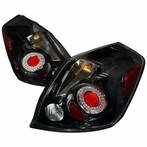 Black Euro LED Tail Lights