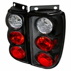 Black Euro Tail Lights