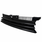 Black Horizontal Badgeless Grille