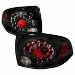 Black JDM Style LED Tail Lights