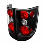 Black JDM Style Tail Lights