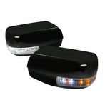 Black LED Mirrors Covers