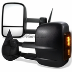 Black LED Power Towing Mirrors