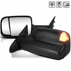 Black LED Towing Mirrors (Powered + Heat Function)