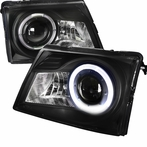 Black Projector Halo Projector Headlights