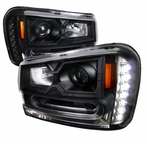 Black SMD LED Projector Headlights