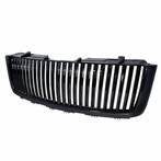 Black Vertical Billet Grille