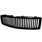 Black Vertical Front Grille