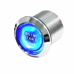Blue LED Engine Start Button - 12V