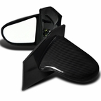 Carbon Fiber Spoon Style Side Mirrors (Power)