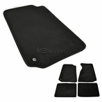 Carpet Floor Mats (Black)