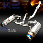 Catback Exhaust with Titanium Tip + Silencer
