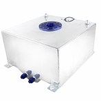 Chrome 10 Gallon Fuel Cell Tank