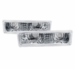 Chrome Bumper Signal Lights