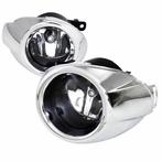 Chrome Clear Fog Lights