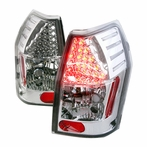 Chrome Euro LED Tail Lights