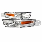 Chrome Euro Style Bumper Lights