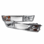 Chrome Fog Lights + Bumper Lights