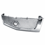 Chrome Front Hood Grille