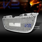 Chrome Front Upper Mesh Grille