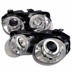 Chrome Halo Projector Headlights