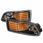 Chrome JDM Style Front Fog Lights