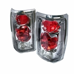 Chrome JDM Style Tail Lights