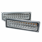 Chrome LED Bumper Signal Lights