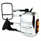 Chrome LED Extending Towing Mirrors (Power)