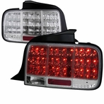 Chrome LED Sequential Tail Lights
