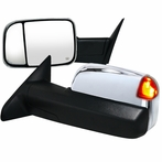Chrome LED Towing Mirror (Power)